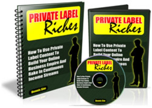 Product picture Private Label Riches