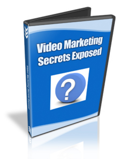 Product picture Video Marketing Secrets Exposed